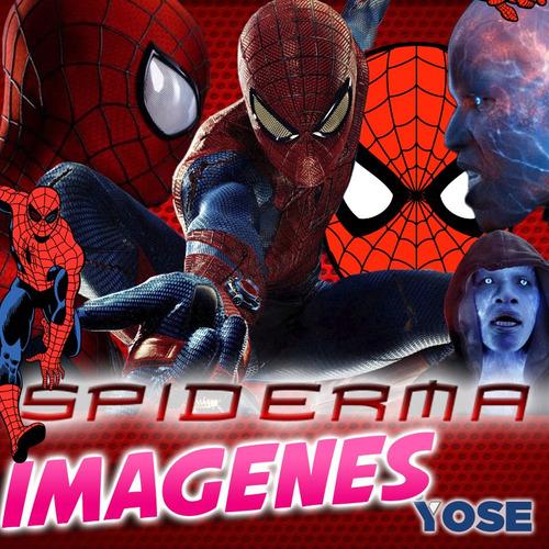 kit imprimible cumpleaño hombre araña, spiderman 2 candy bar