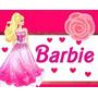 Kit Imprimible Barbie Diseña Tarjetas, Cumples Y +