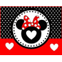 Kit Imprimible Minnie Roja + Otro Kit De Regalo