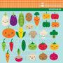 Kit Imprimible Frutas Y Verduras Imagenes Clipart