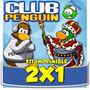 Kit Imprimible Club Penguin Cotillón Cumpleaños Infantiles