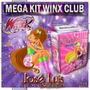 Kit Imprimible Winx Club Y Regalos Tarjeta Cumple Invitacion