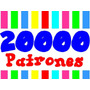 Kit Imprimible 20000 Patrones Tarjetas Cajas Marcos Cumplean