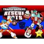 Kit Transformers Rescue Bots Diseñá Tarjetas Cajas Cumple 2