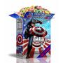 2x1 Mega Kit Imprimible Capitan America Powerpoint Editable