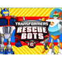 Kit Imprimible Transformers Rescue Bots Diseña Tarjetas #1