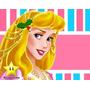 Kit Imprimible Princesas Aurora De La Bella Durmiente #2