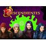 Kit Imprimible Descendientes Disney Tarjetas Cumples Y Mas