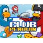Kit Imprimible Club Penguin Diseñá Tarjetas, Cumples Y Mas