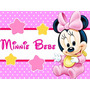 Kit Imprimible 1 Minnie Bebe Disney Candy Bar Tarjetas Y Mas