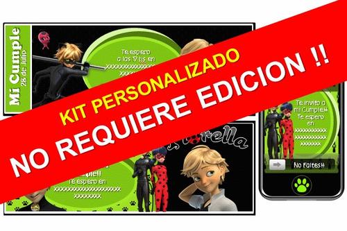 kit imprimible de chat noir cat noir 100% personalizado
