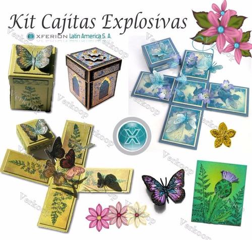 kit imprimible de invitaciones cajitas explosivas + regalos