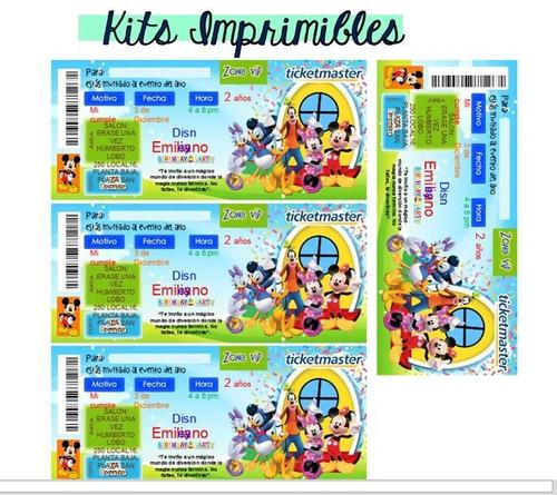 kit imprimible de invitaciones personalizadas digitales