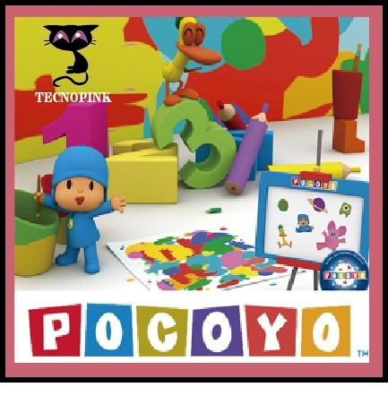 kit imprimible de pocoyo (2en1) + candy bar + regalo + 2x1