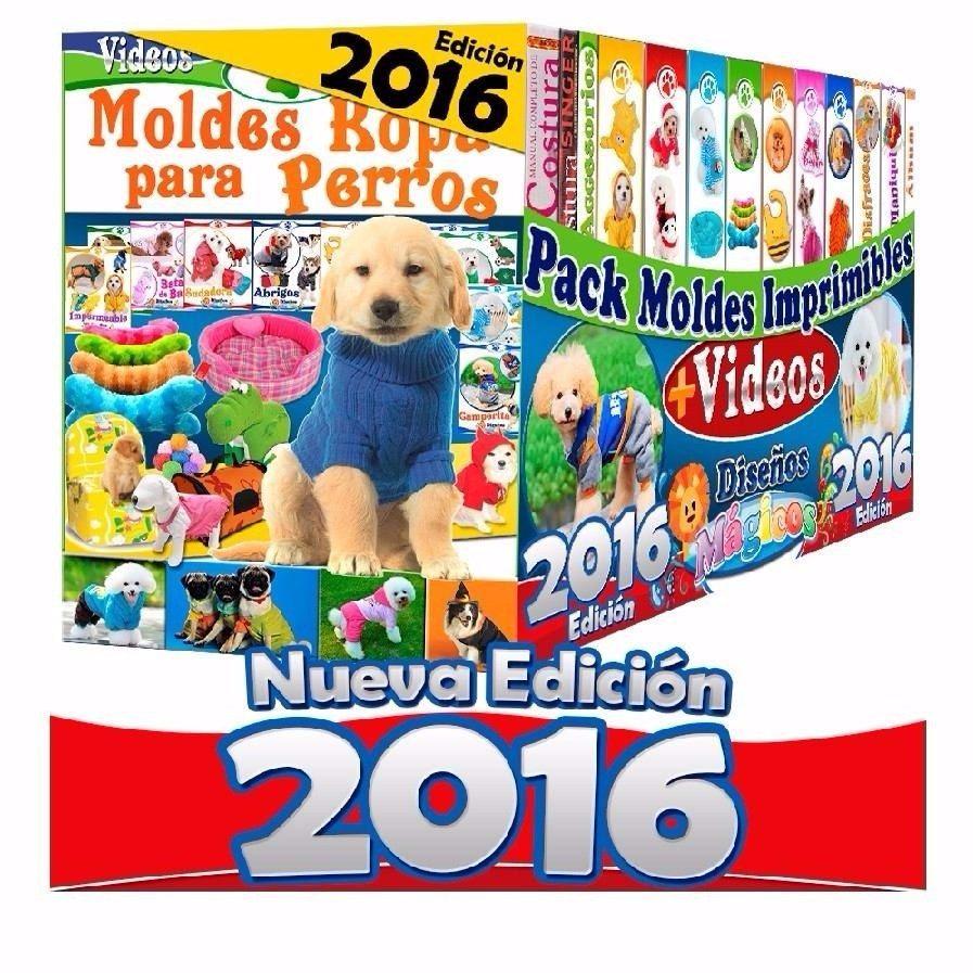 Kit Imprimible De Ropa Para Perros Patrones Y Moldes Negocio - $ 49 ...