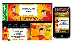 701b6f9c5f59 Kit Imprimible Del Chapulin Colorado Verde Rojo
