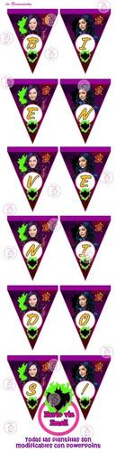 kit imprimible descendientes disney candy bar golosinas 3