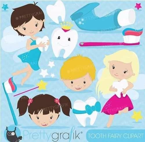 kit imprimible dientes dentista imagenes clipart