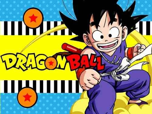 kit imprimible dragon ball golosinas y mas