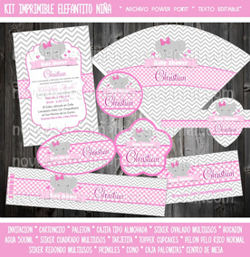 Baby Shower Nina Elefante Decoracion.Decoracion Baby Shower Nina Elefante Unpastiche Org