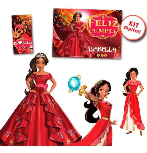 kit imprimible elena de avalor! candy deco y más princesa