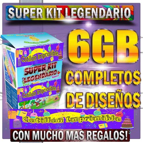 kit imprimible empesarial legendario!!!