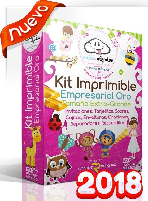 Kit Imprimible Empresarial Invitaciones + Regalos 2018 - $ 199.00 en ...