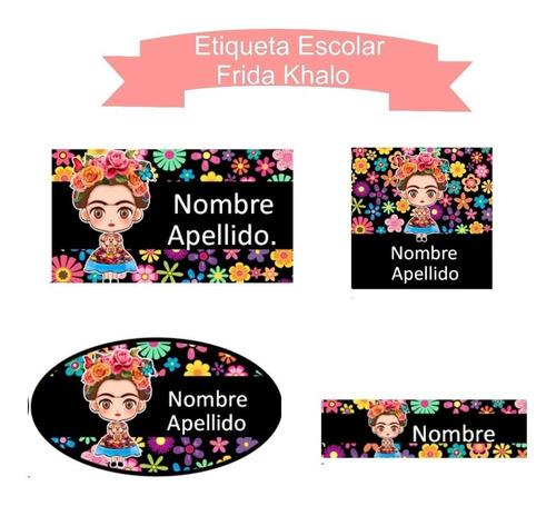 kit imprimible etiquetas escolares 2019 + de 200 personajes