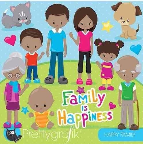 kit imprimible familia imagenes clipart
