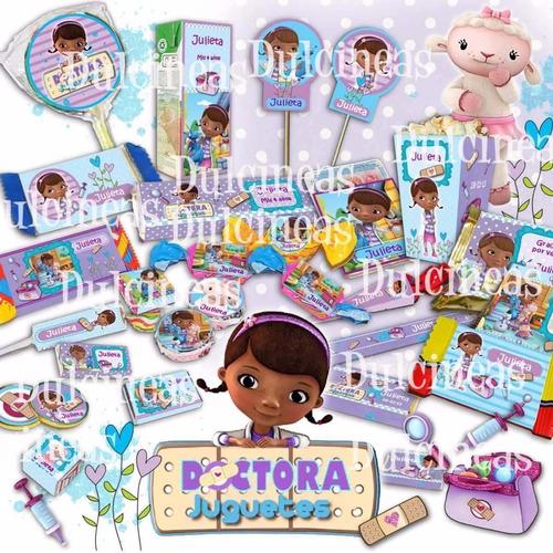 kit imprimible fiesta angelina ballerina doctora juguetes