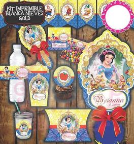 Paquete De Bolos Fiesta Princesas - Decoración para Fiestas