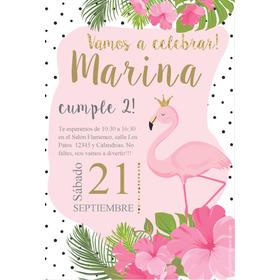 Kit Imprimible Flamenco Princesa Rosas Editable Promo 2x1