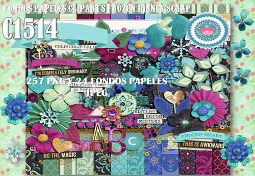 kit imprimible fondos cliparts frozen 281 diseños hermosos