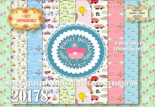 kit imprimible fondos laminas autitos p/ cumpleaños tarjetas