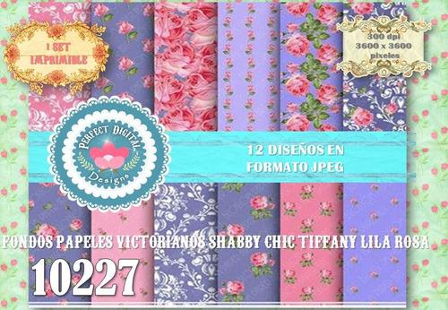 kit imprimible fondos laminas rosa lavanda p/ estampitas tag