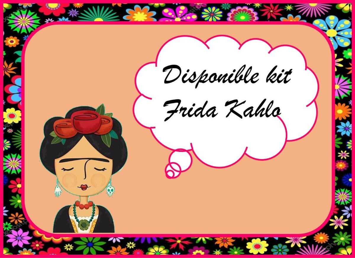 Imagenes De Frida Kahlo Para Imprimir: Kit Imprimible Frida Kahlo Sin Textos