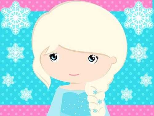 kit imprimible frozen bebe candy bar golosinas tarjetas #1