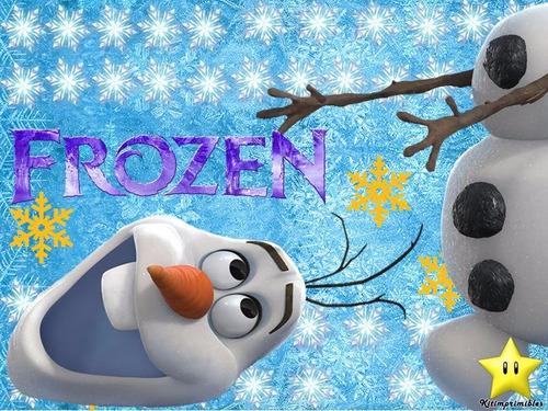 kit imprimible frozen invitaciones candy bar cumples # 2