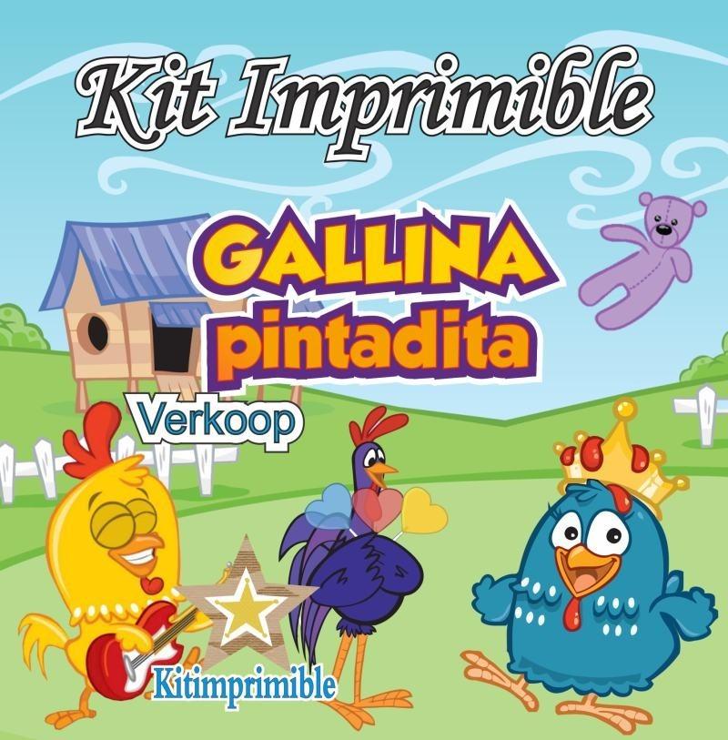 Kit Imprimible Gallina Pintadita + Candy Bar Fiesta Snoopy - $ 307 ...