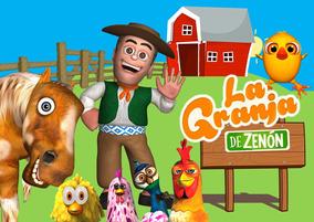 Kit Imprimible Granja Zenon Editable Invitaciones Kdkt0033