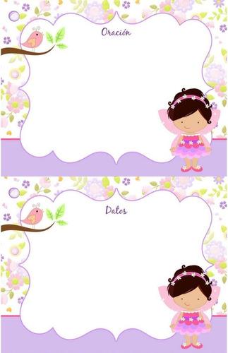 kit imprimible hadita rosa fiesta 3x1