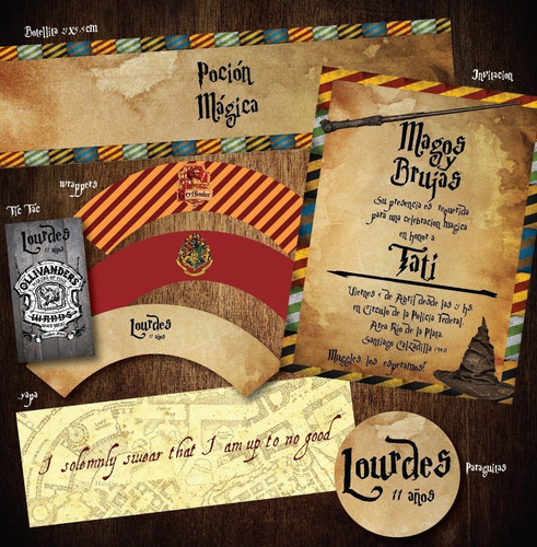 kit imprimible harry potter candy snitches bertiebotts ranas