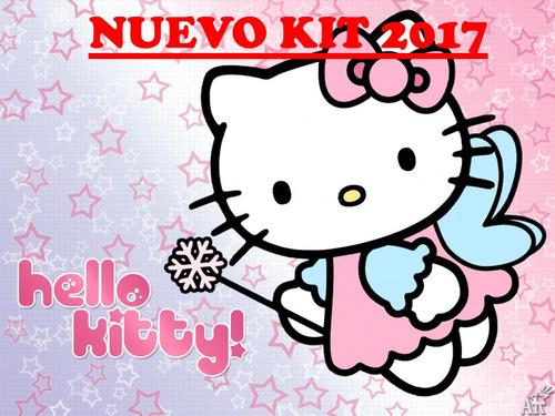 kit imprimible hello kitty diseña tarjetas , cumples y mas.