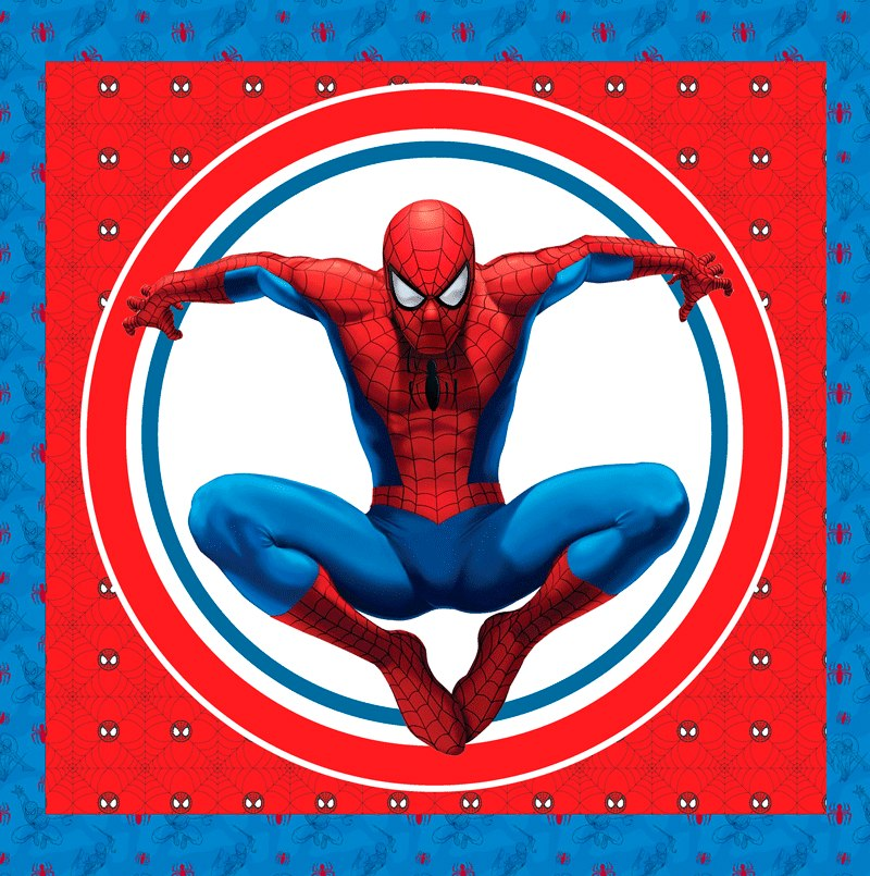 kit imprimible hombre araa spiderman invitaciones candy bar