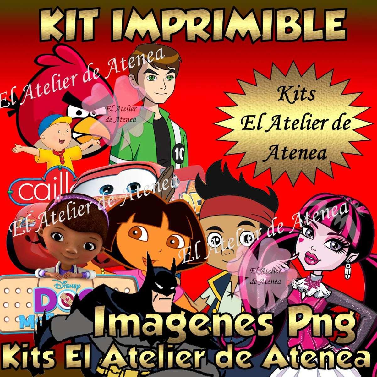 Kit Imprimible Imagenes Png Sin Fondo Blanco 5000 En Mercado