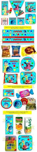 kit imprimible intensamente candy bar golosinas y mas