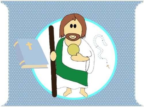 kit imprimible invitaciones san juditas; primera comunion #2