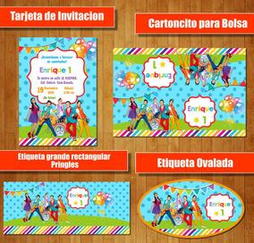 Kit Imprimible Junior Express Topa Candy Bar Cumple Fiesta C
