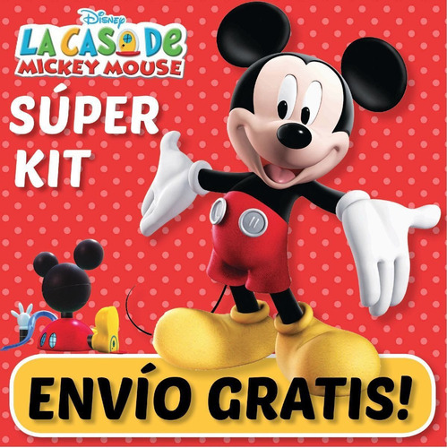 kit imprimible la casa mickey mouse promo 2x1