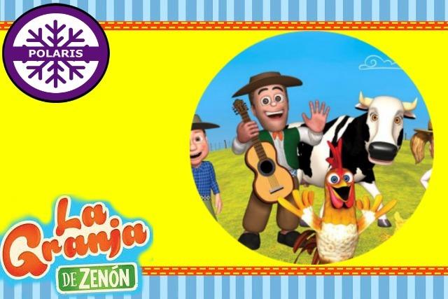 Kit Imprimible La Granja De Zenon Cumpleaños Fiesta $ 1 990 en Mercado Libre